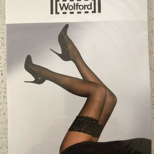Wolford NWT Satin Touch 20 Cosmetic beige MED